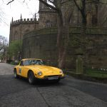 Classic Car Rally at Lancaster Castle, St Georges Day 2018
