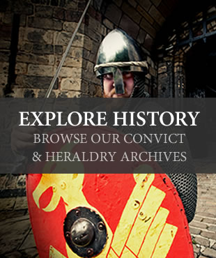 explore history - browse the convict and heraldry archives