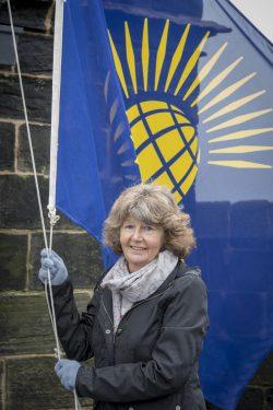 The Constable of Lancaster Castle Mrs Pam Barker DL