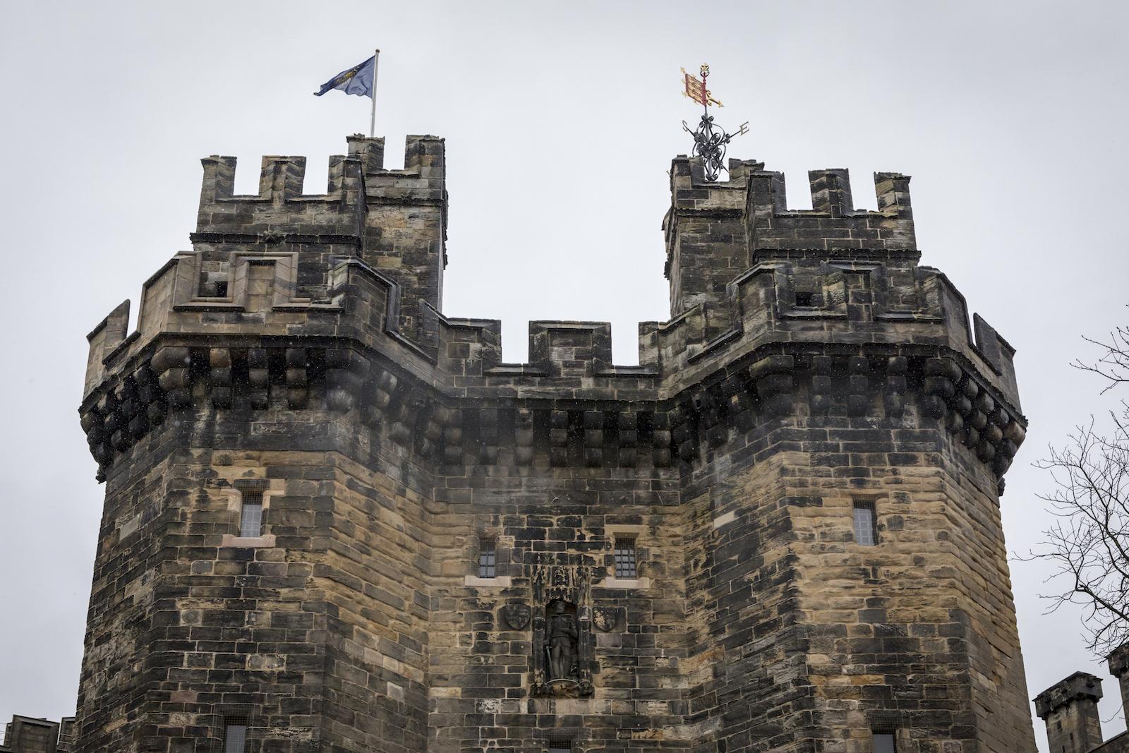 Commonwealth Flag Flies Over Lancaster Castle