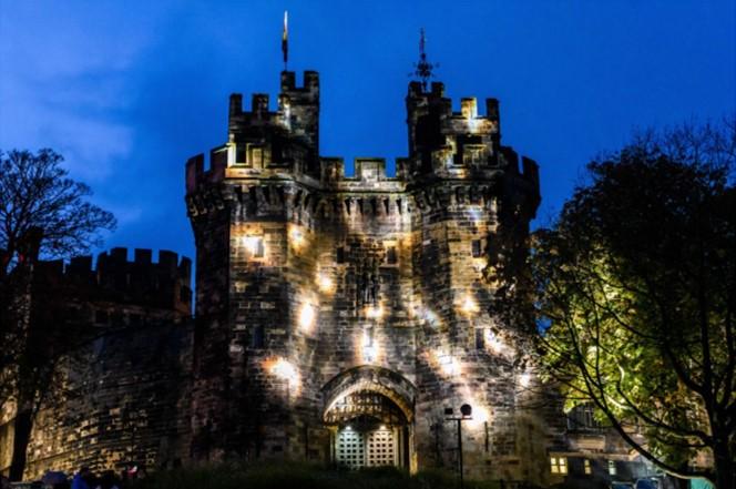 Light Up Lancaster at Lancaster Castle 2019
